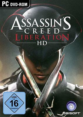 PC Computer Spiel ***** Assassin´s Creed Liberation HD * Assassins ******NEU*NEW