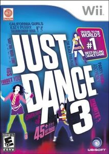 Wii-Just Dance 3-Very good condition + bonus Wii game