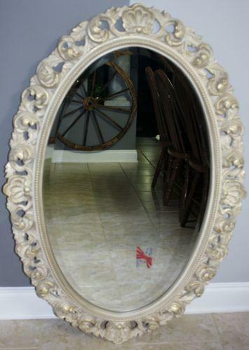 Oval Beveled Mirror Ebay