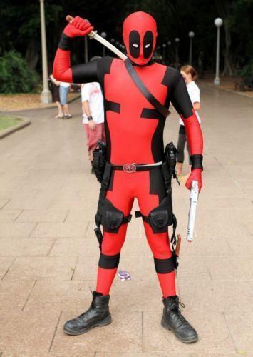deadpool costume ebay