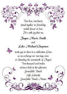 Purple Butterfly Decorations For Weddings