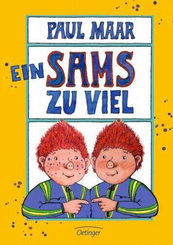 Ein Sams zu viel / Das Sams Bd.8 von Paul Maar (Buch) NEU