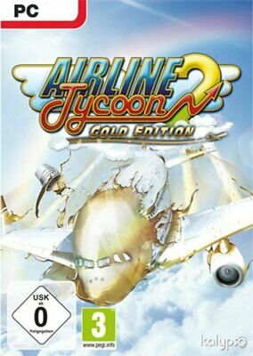 Airline Tycoon 2 - Gold Edition (PC 2012 Nur Steam Key Download Code) Keine DVD