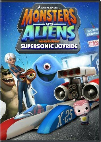 Monsters vs. Aliens: Supersonic Joyride (2014, REGION 1 DVD New) WS