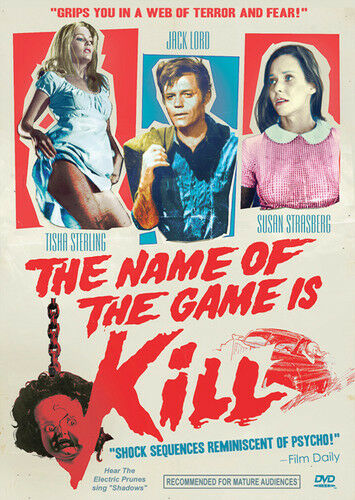Name Of The Game Is Kill (2013, DVD NEW)