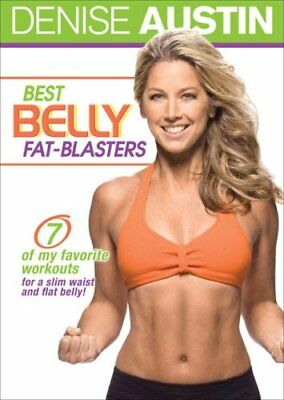 DENISE AUSTIN BEST BELLY FAT BLASTERS WORKOUT DVD NEW SEALED EXERCISE