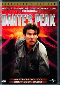 DANTE'S PEAK New Sealed DVD Collector's Edition Pierce Brosnan