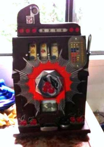 Antique Slot Machine Ebay