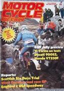 Motor Cycle Weekly