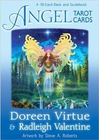 ANGEL TAROT CARDS BY DOREEN VIRTUE & RADLEIGH VALENTINE - BRAND NEW IN SEALED PACKAGING