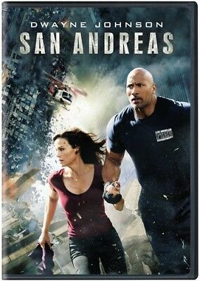 San Andreas [New DVD] Eco Amaray Case