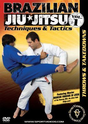 Brazilian Jiu-Jitsu Techniques and Tactics Vol. 1 Throws and Takedowns DVD