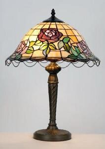 Tiffany Glass Table Lamp