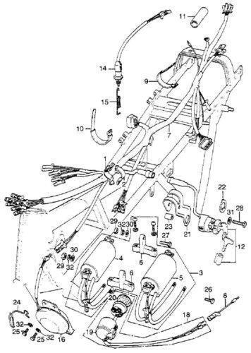 1983 Honda Nighthawk 550 Wiring Diagram : 39 Wiring