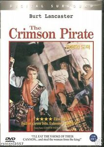 The Crimson Pirate (1952) New Sealed DVD Burt Lancaster