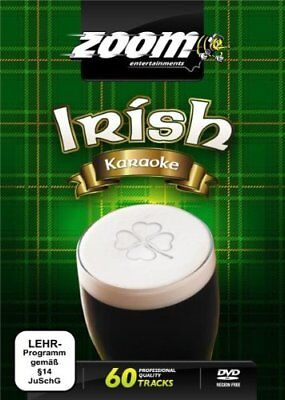 Zoom Karaoke Irish Karaoke DVD - 60 tracks on 2 DVDs Pogues Dubliners Bachelors