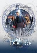 Dr Who Autograph Matt Smith
