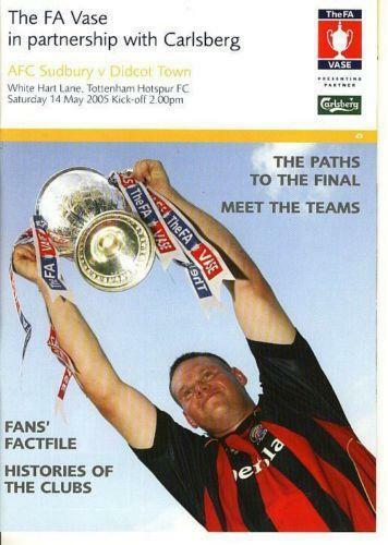 Fa Vase Final Football Programmes Ebay