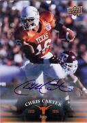 Chris Carter Autograph
