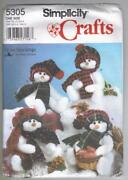 Sewing Patterns Snowman