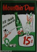 Mountain Dew Soda Bottles