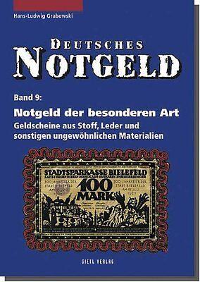 Deutsches Notgeld - Band 9 - Notgeld der besonderen Art (H. L. Grabowski)