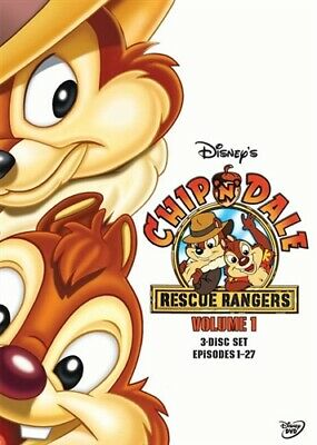 CHIP N DALE RESCUE RANGERS VOLUME 1 New Sealed 3 DVD Set 27