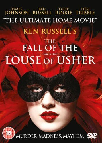 The Fall of the Louse of Usher   **Brand New DVD**  Ken Russell