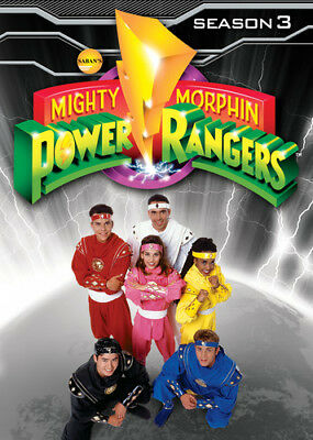 Mighty Morphin Power Rangers: Season 3 [New DVD] Full Frame