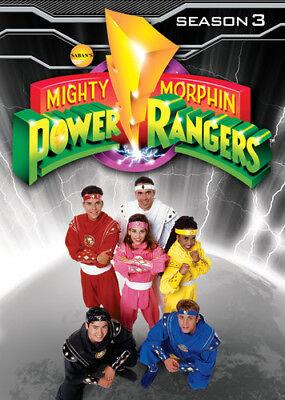Mighty Morphin Power Rangers: Season 3 [New DVD] Full Frame
