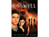 Roswell all three seasons dvd sets