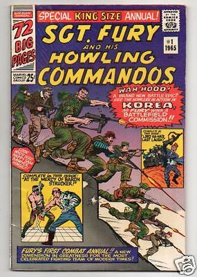 SGT. FURY AND HIS HOWLING COMMANDOS :: 1 :: IN KOREA