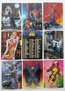 1992 Marvel Masterpieces Set