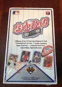1991 Upper Deck Baseball Box