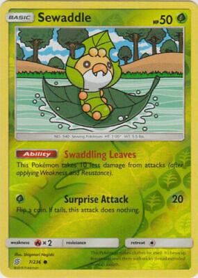 Unified Minds  Common  Mint//NM  Pokemon Karrablast 12//236  S/&M