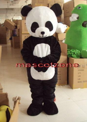 HAND MADE – This panda costume was handcrafted by the professional mascot designers. PREMIUM QUALITY – panda fursuit made of super soft hypoallergenic faux fur. EXCELLENT DESIGN – This panda suit features an awesome look and premium quality.