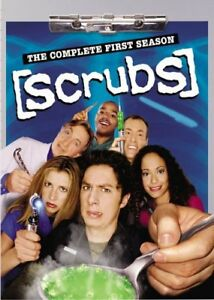 Scrubs Seasons 1-3 DVD