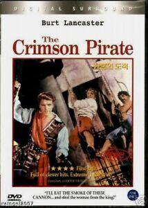The Crimson Pirate (1952) New Sealed DVD Burt Lancaster