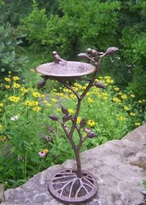 Oakland Living Feathers Meadow Birdbath -