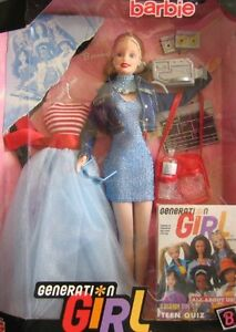 1999 BARBIE DOLL GENERATION GIRL 1ST EDITION NEW IN BOX