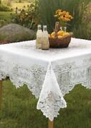 White Lace Tablecloth