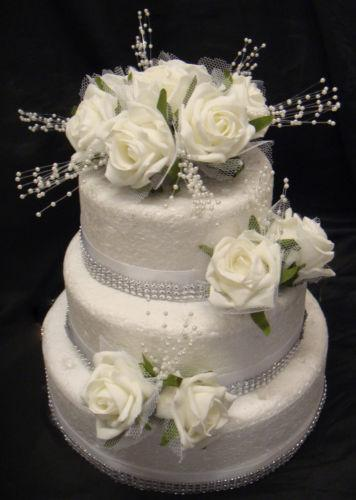 wedding cake settings pearl wedding cake decorations ebay 24327