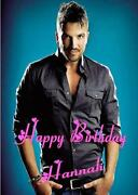 Peter Andre Birthday Card