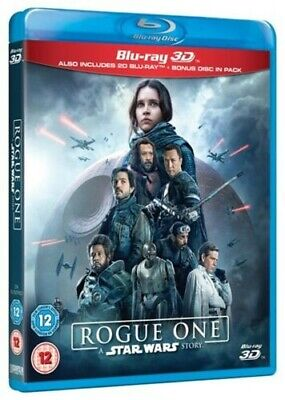 ROGUE ONE - A STAR WARS STORY [BLURAY 3D+BLURAY] 2R - NEW & SEALED