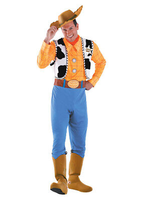 Woody Deluxe Adult Toy Story Halloween Costume