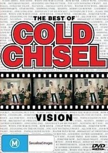 COLD CHISEL The Best Of Vision DVD BRAND NEW PAL Region All Jimmy Barnes
