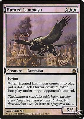 MTG - Ravnica - Hunted Lammasu - Foil - NM