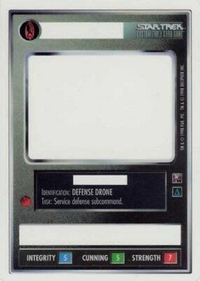 Star Trek: Defense Drone [Lightly Played] Enhanced First Contact STCCG Decipher