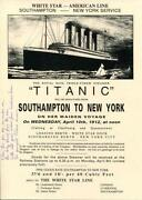 Titanic Survivor Signed