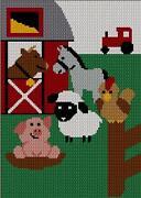 Crochet Animal Afghan